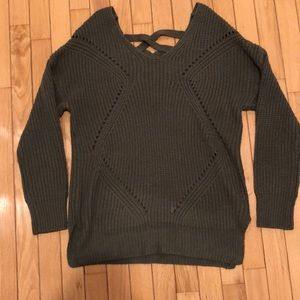 Charlotte Russe Army Green Sweater